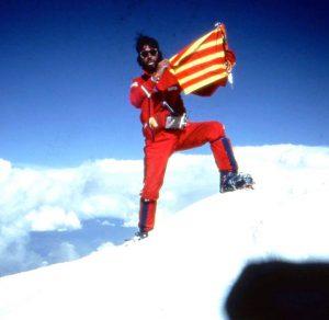 1 - CADIACH Nanga Parbat (8.125m) (7 d'agost de 1984) junt amb Jordi Magrinyà.