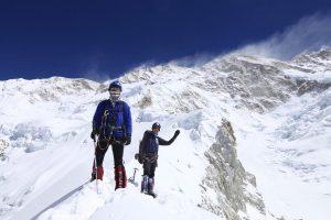 Oscar Cadiach en l'ascensió al Kangchenjunga
