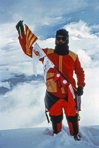 2 - CADIACH Everest (8.848m) 28 d'agost de 1985 i per segon cop el 17 de maig de 1993