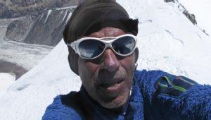 Òscar Cadiach al Gasherbrum 1. Juliol 2013