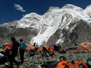 Camp base del Broad Peak