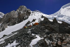 Camp 1 del Broad Peak