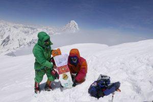 Cim del Broad Peak (8.047 m)  27 de juliol 2017