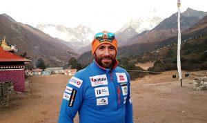 Alex Txikon, camp base Everest @AlexTxikon