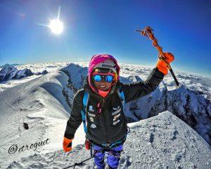 Stefy Troguet al Mera Peak (Nepal) (6.476m)