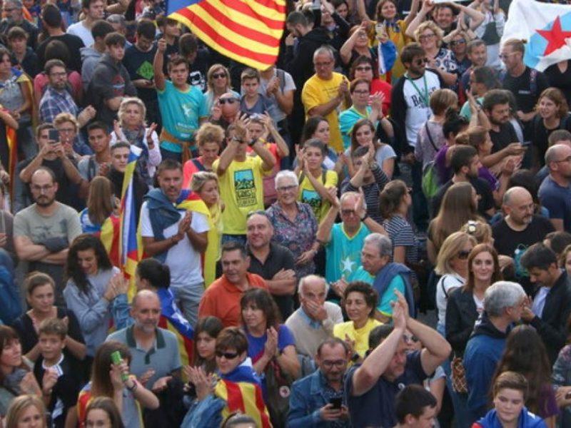 Gent en una manifestació