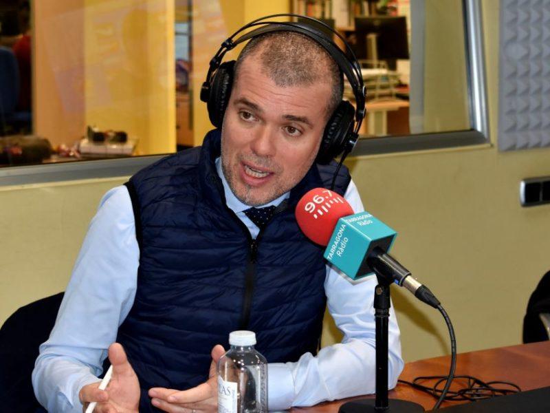 josepmaria cruset durant una entrevista amb tarragona ràdio