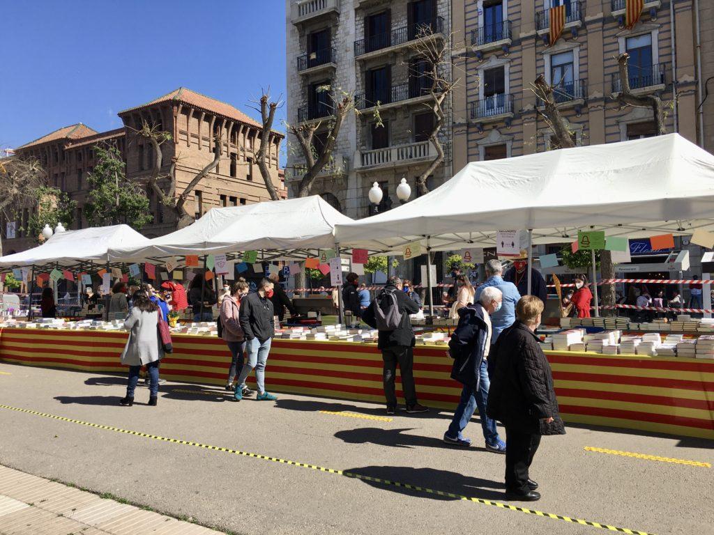 Parada llibres Sant Jordi