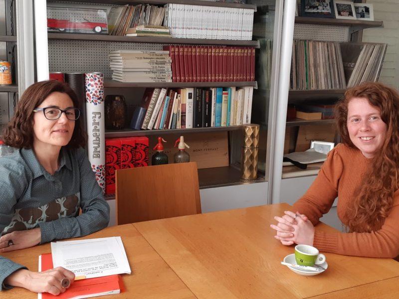 Conversa amb Gemma Ventura Farré al Tràfic d'Abstraccions