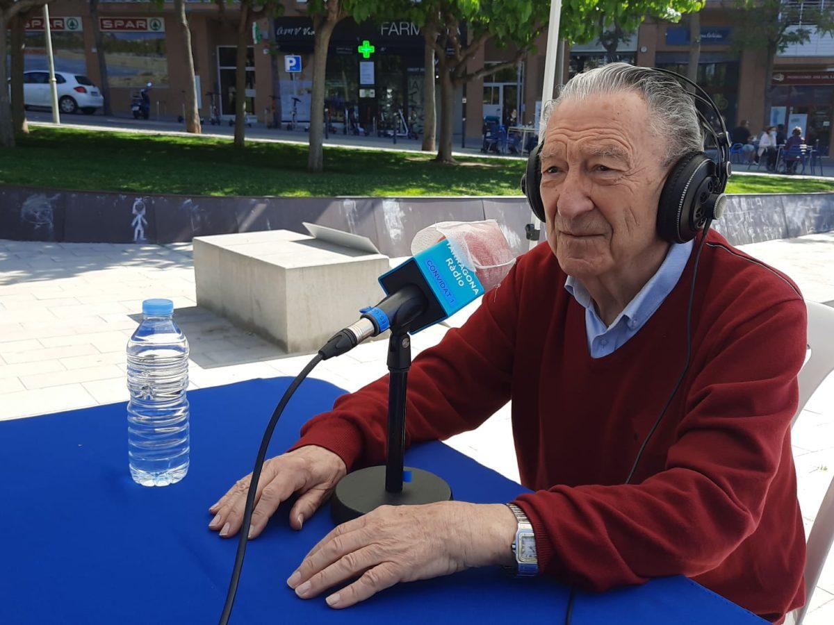 José Luis Garcia, durant l'entrevista amb Tarragona Ràdio.