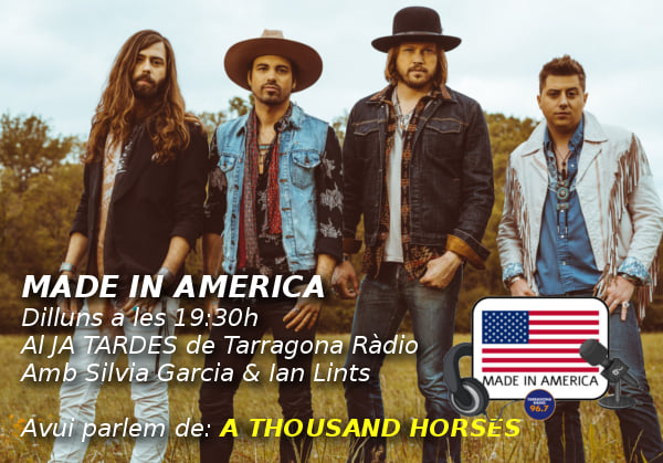 Made in America. A Thousand Horse