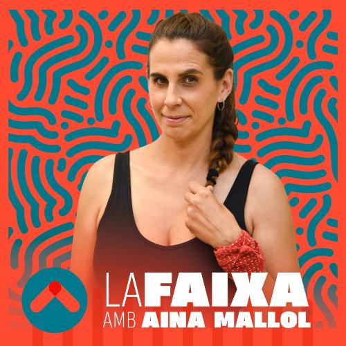 Aina Mallol en una imatge promocional de La Faixa.