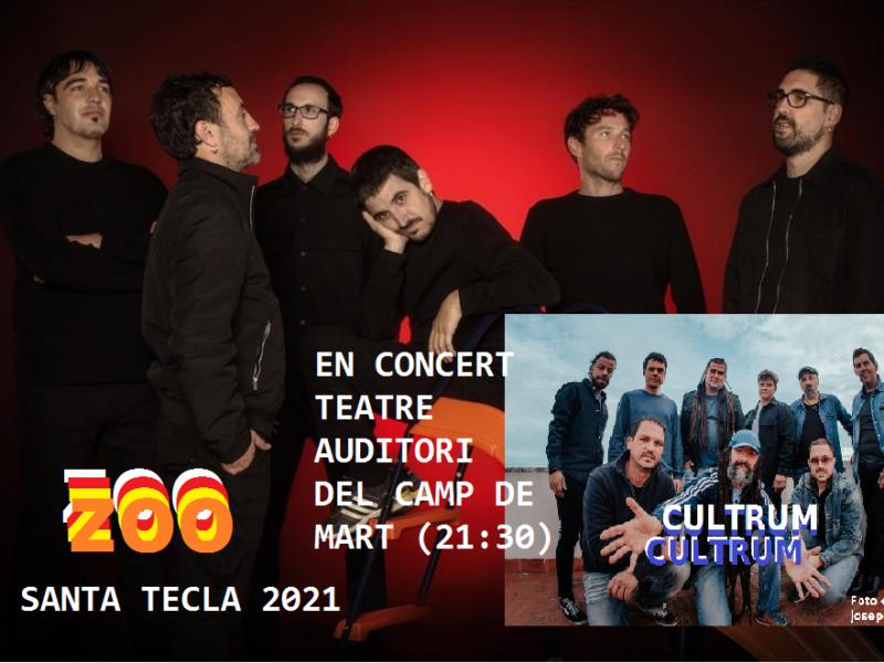 Concert Zoo i Cultrum per Santa Tecla al Teatre Auditori de Camp De Mart