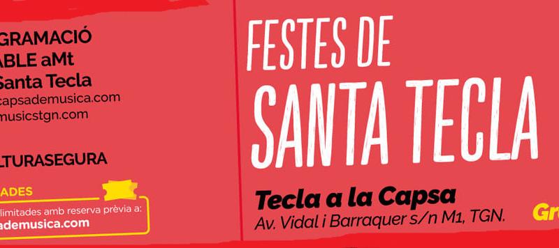 Capsa de Música. Concerts de Santa Tecla