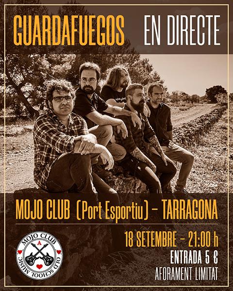 Guardafuegos en concert al Mojo Club