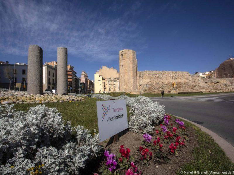 Tarragona forma part del projecte Viles Florides. Foto: Manel R. Granell.