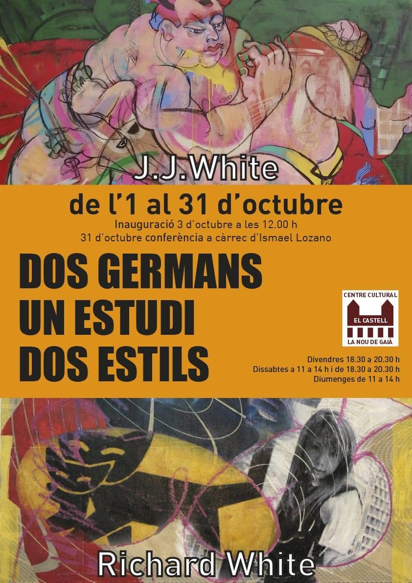 Exposició Germans White a la Nou de Gaià